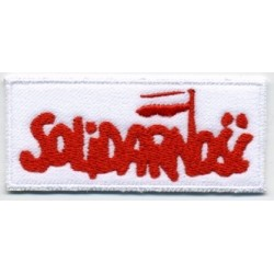 SOLIDARITY/SOLIDARNOŚĆ sign