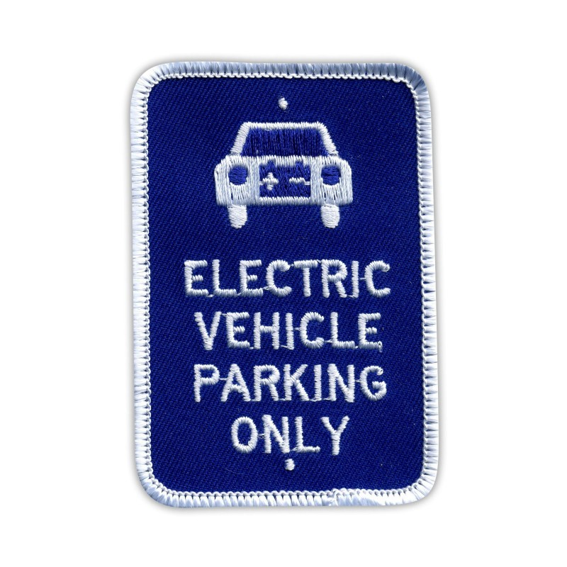 Electrical Vehicle Parking Only Sign