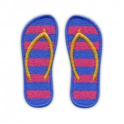 Flip-flops - blue&pink