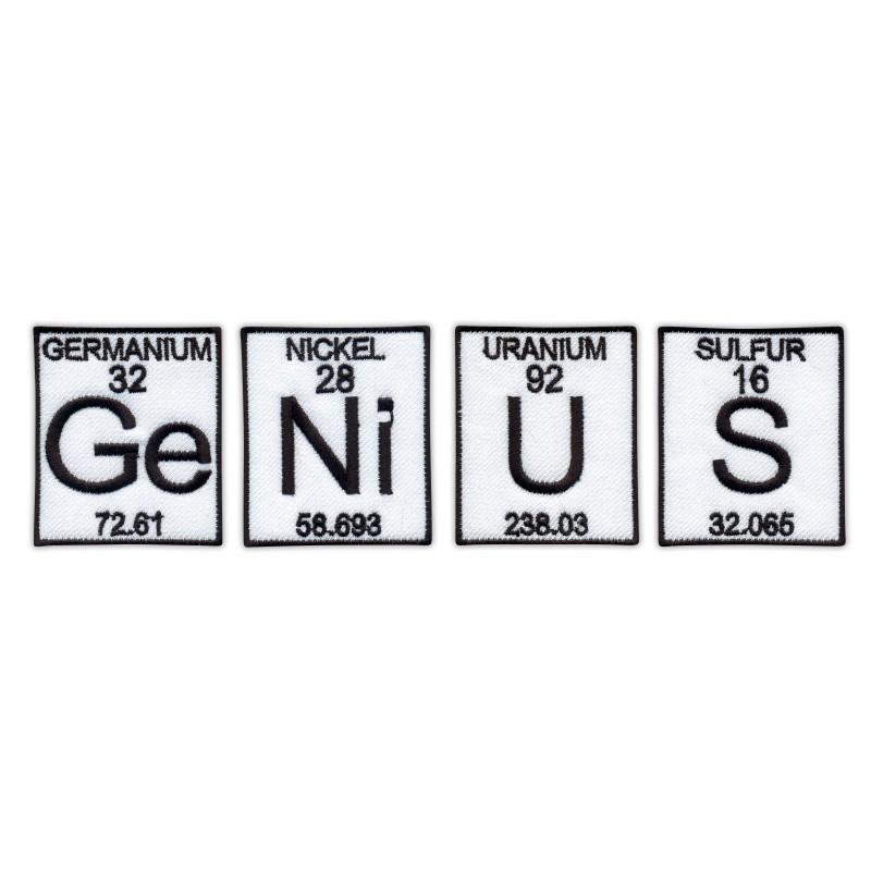 Ge (Germanium) Ni (Nickel) U (Uranium) S (Sulfur) - a set of patches - GeNiUS