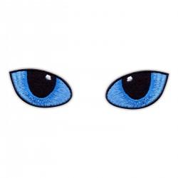 Cat Eyes Blue - at night
