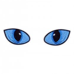 Cat Eyes Blue - in daylight