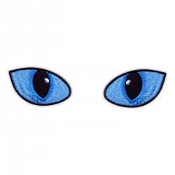 Cat Eyes Blue - in daylight