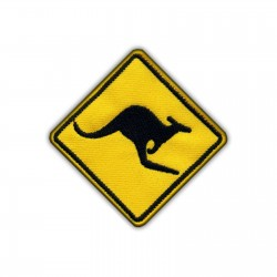 Warning- Kangaroos on the road