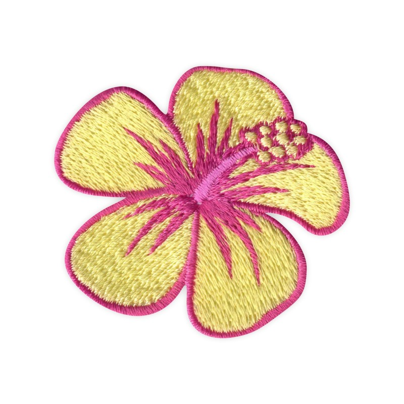 Hibiscus flower - yellow