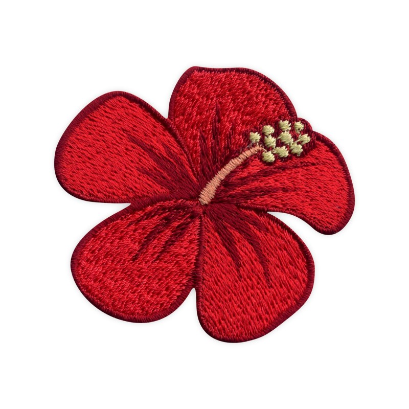 Hibiscus flower - red