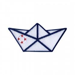 Origami boat - life buoy