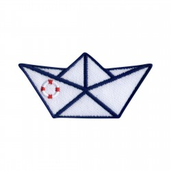 Origami ship - lifebuoy
