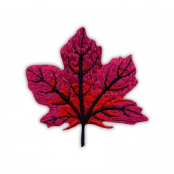Autumn red maple leaf - small