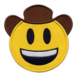 Smiling cowboy in hat