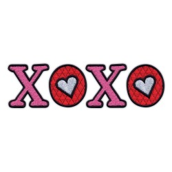 XOXO - kisses and hugs - inscription