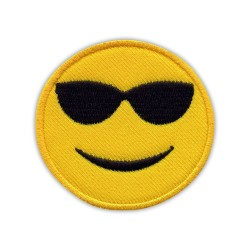 Face with sunglasses - chillout - emoji