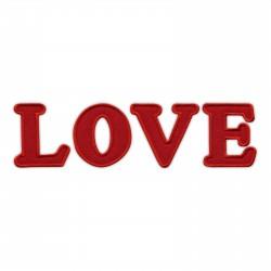 LOVE - inscription