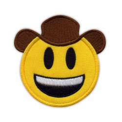 Smiling cowboy in hat - small