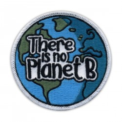 There is no Planet B - round patch