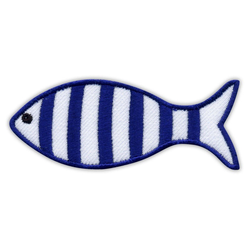 Striped FISH - in marine style