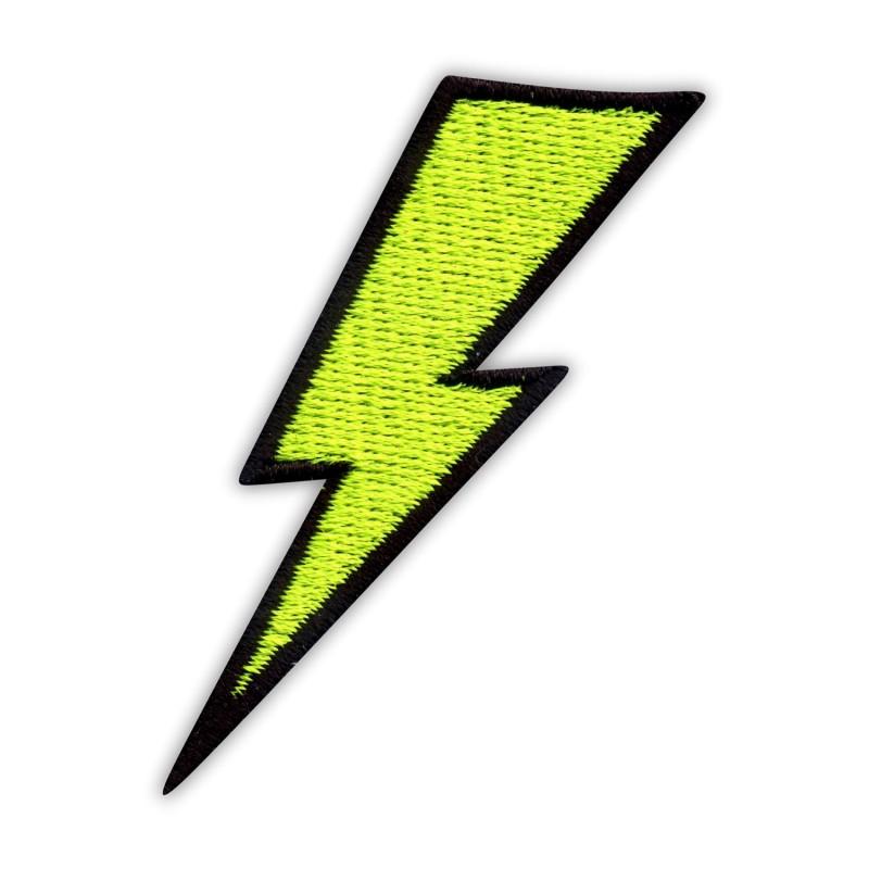 Lightning - thunder - flashy green