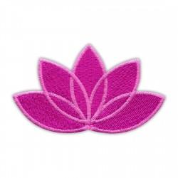 LOTUS flower dark pink - pink edge