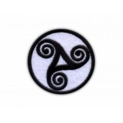 Celtic circle - TRISKEL Triskelion
