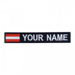 Name Patch with flag of Austria