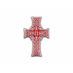 Celtic cross (red big)