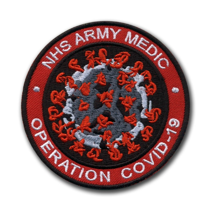 NHS ARMY MEDIC Operation COVID - red