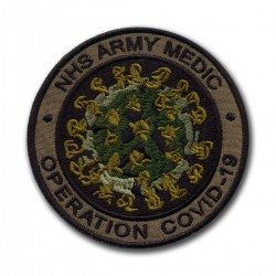 NHS ARMY MEDIC Operation COVID - subdued
