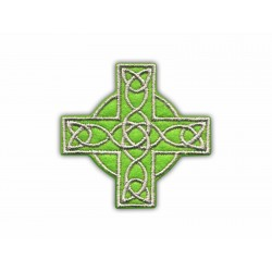 Celtic cross (green small)