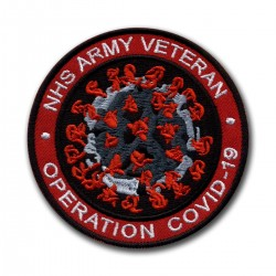 NHS ARMY VETERAN Operation COVID - red
