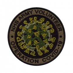 NHS ARMY VOLUNTEER Operation COVID - subdued