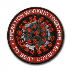 Operation WORKING TOGETHER to BEAT COVID - red