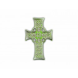Celtic cross (green big)