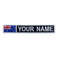 Name Patch with flag of Australia