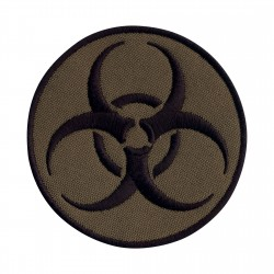 Biohazard - biological threat - round subdued