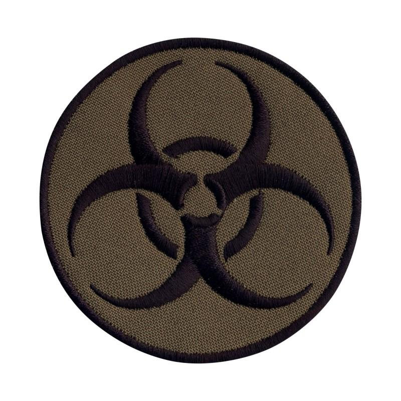 Biohazard - biological threat - round subdued
