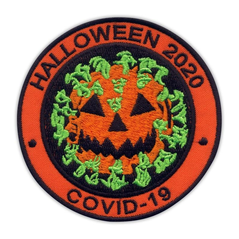 HALLOWEEN 2020 - virus as pumpkin