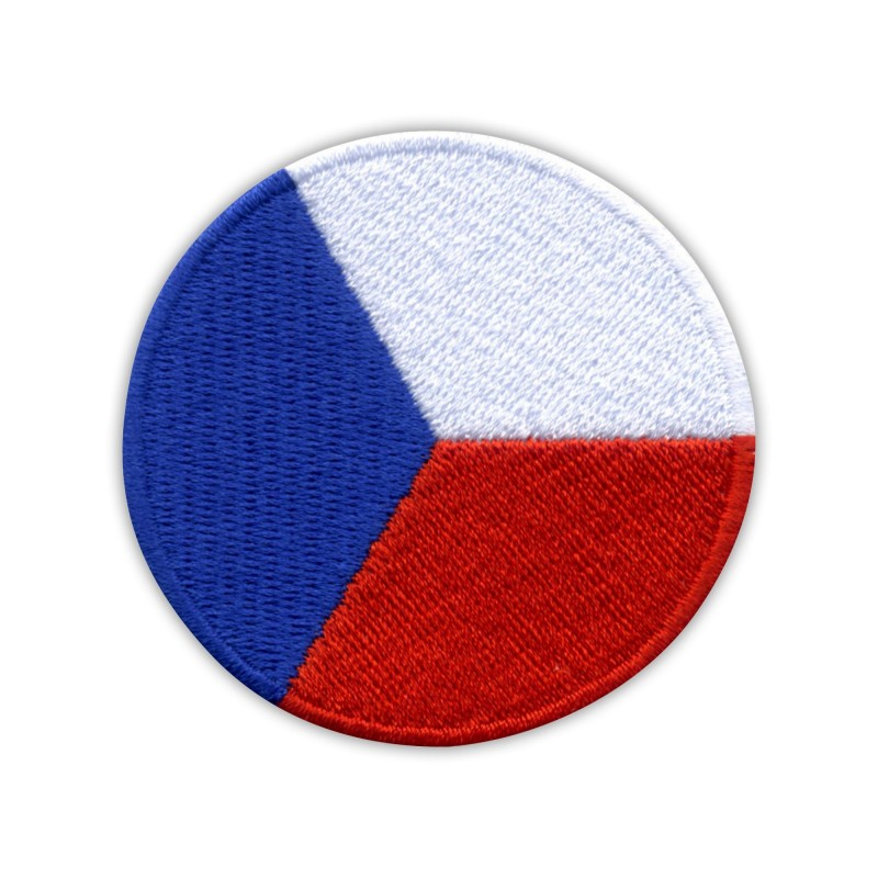 Czech Air Force Roundel - edge in 3 colours