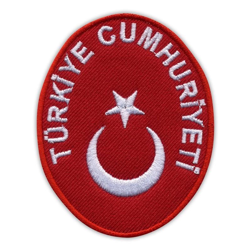 National Emblem of TURKEY - TÜRKİYE CUMHURİYETİ