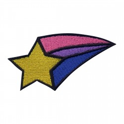 Shooting STAR - pink & purple tail