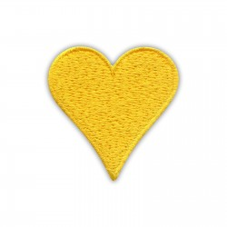 Heart - yellow