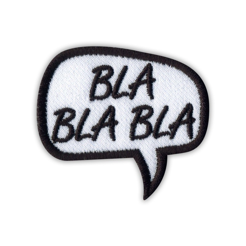 Speech Bubble - BLA BLA BLA