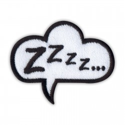 Speech Bubble - Zzzz...