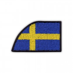 Collar flag of Sweden - left