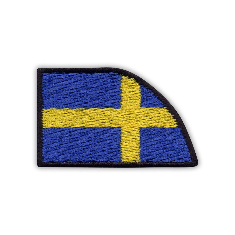 Collar flag of Sweden - right