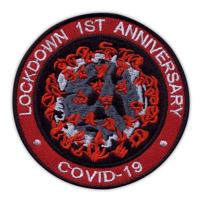 LOCKDOWN 1ST ANNIVERSARY COVlD - red