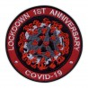 LOCKDOWN 1ST ANNIVERSARY COVlD - red