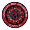 LOCKDOWN 2ND ANNIVERSARY COVlD - red