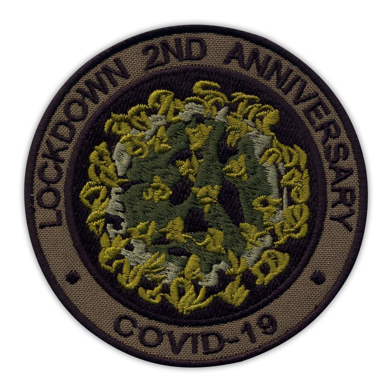 LOCKDOWN 2ND ANNIVERSARY COVlD - subdued/olive