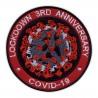 LOCKDOWN 3RD ANNIVERSARY COVlD - red