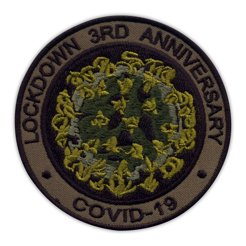 LOCKDOWN 3RD ANNIVERSARY COVlD - subdued/olive